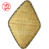 Récipient en plastique de la poterie en usine de la mélamine vaisselle comme la plaque de bambou