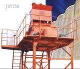 De tweeling Horizontale Concrete Mixer van de Schacht (JSY750)
