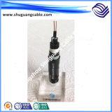 Yjv 0.6-1kv XLPE isolou o cabo distribuidor de corrente Sheathed PVC de baixa tensão