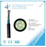 Cable óptico de la fibra de la base barata del precio G652D ADSS 24 con por el contador