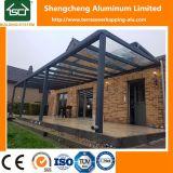 Gazebo en aluminium en métal d'antiquité de couverture de patio