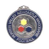 Pas cher de faire votre propre logo personnalisé de l'émail Marathon Prix Médaille en métal avec ruban