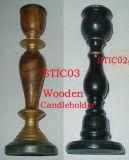 Candleholder de madera (STIC02,STIC03)