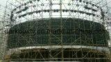 P5 Circular de la curva de la pantalla LED de exterior de la publicidad y el Centro Comercial
