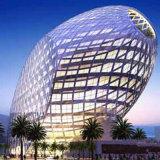Parete divisoria popolare di vetro Tempered di disegno per la plaza di lusso