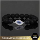 De vrouwen vormen Armband Mjbe006 van Hamsa van de Parels van het Oog van Juwelen de Kwade