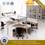 木のオフィス用家具のアルミニウム構造4のシートワークステーション(HX-8N3032)