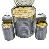 Стеклянный кувшин упаковки консервированных грибов упаковки консервов