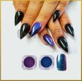 Shimmer и блеска Chrome Chameleon лак для ногтей наружного зеркала заднего вида искусства Блестящие цветные лаки пигмента