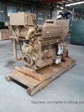 Motor diesel genuino de Kta19-M425 Cummins para la fuerza propulsora de marina