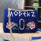2017 neue Entwurfs-Blumen verzierten Handtaschen-Dame-Handbeutel-Frauen-Einkaufstasche-Freizeit-Art-Beutel mit Großhandelspreis Sy8672