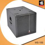 15 Zoll PROSubwoofer Systems-hölzerner im Freien passiver Lautsprecher