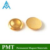 N52 Permanente Magneet van de Knoop van D14*2.5 de Gouden met Magnetisch Materiaal NdFeB