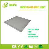Luz de painel quadrada do diodo emissor de luz do teto de SAA/CB/Ce/RoHS 40W para interno