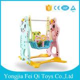 Presidenza di oscillazione e sede, oscillazione del bambino, giocattolo dell'interno del bambino dell'oscillazione del bambino prescolare di plastica