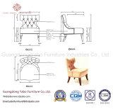 Простой ресторан мебель с ткань ресторан стул (6371)