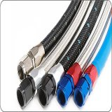 Flange Stainless Steel Flexible PTFE Racing Because Car Smooth Boron Teflon Hose Brake Line Hose