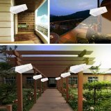 LED impermeable al aire libre de pared de luz solar 1W