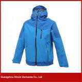 도매 남자의 폴리에스테 옥외를 위한 우연한 방수 스포츠용 잠바 재킷 (J75)