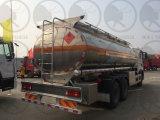 Sinottruk HOWO 160HP 6X4のアルミニウム燃料のタンク車
