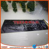 Impermeable duradera impresión a doble cara los carteles de PVC con agujero de viento