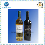 Collants d'étiquette adhésive de qualité pour la bouteille de vin (JP-s029)