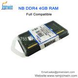 휴대용 퍼스널 컴퓨터를 위한 중국 DDR4 4GB 외부 렘에서 대량 구매