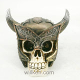 熱い販売の人間動物の頭骨の芸術、Polyresinの樹脂の頭骨の装飾