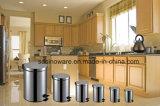 Vendita-Alta pattumiera calda di rivestimento dello specchio dell'acciaio inossidabile di qualità 12L per la casa e l'hotel