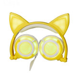 2018 тенденция индивидуального бестс светодиодный индикатор Cat наушники-вкладыши для девочек