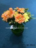 Crisantemo artificiale/di plastica/di seta Bush (XF-FD14) del fiore