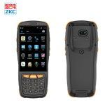 De Handbediende Streepjescode Scanenr PDA van het Scherm van de Aanraking van de douane met 4G NFC RFID
