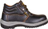 Дешевые ботинки безопасности PU верхние резиновый единственные для работников