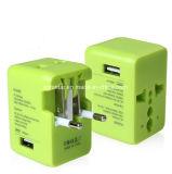 一義的なデザイン普及した旅行小型USBのポートのアダプターユニバーサルUSB旅行アダプター