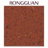 Marmo di superficie solido di pietra artificiale di Artifiial della pietra del quarzo di Rosa (GT046)
