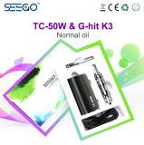 Kit liquido Amazon del MOD della casella di Vape del kit della Cina Seego K3 Eliquid del commercio all'ingrosso di Cig di E