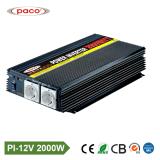 Paco Pi-2000W-12V Energie Inversor des Inverter-2000W