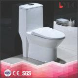 Basamento sanitario del pavimento della toletta di un pezzo di ceramica bianca della fabbrica di Chaozhou