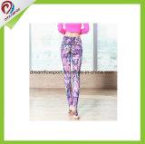 Caneleiras firmemente personalizadas da aptidão do desgaste da ioga das mulheres para a ioga