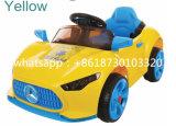 4명의 바퀴 12 V 전지 효력 아이들 아기 플라스틱 장난감 전차