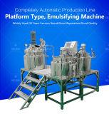 Cream Emulsifying Machine, Stainless Steel and High Efficiency Mixer, Vacuum Emulsifying Machine