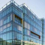 デラックスな広場のための普及したデザイン緩和されたガラスのカーテン・ウォール