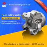 Ferramentas de corte dos cortadores de moagem de rosto para máquinas CNC
