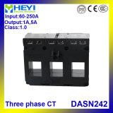 Trasformatore corrente a tre fasi Dasn242 60/5A - fase Cts 3 di Heyi di 250/5A 3 in trasformatori correnti 1