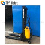 Pompa idraulica camion di pallet elettrico semi mini autoalimentato CC da 2 tonnellate