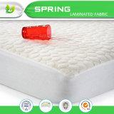 Protector anti impermeable del colchón de 40%Viscose 60%Polyester Pilling