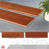 Mattonelle di pavimento di ceramica di legno del materiale da costruzione per la decorazione (VRW6N1501, 150X600mm/6 '' x32 '')