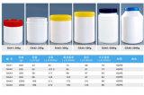 150ml HDPE 단단한 약 플레스틱 포장을%s 기울어지는 어깨 사각 병