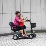 아이를 위한 시트를 가진 쉬운 라이더 휴대용 전기 소형 스쿠터