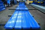Varios Color techo galvanizado recubierto de Hojas onduladas PPGL metal roofing